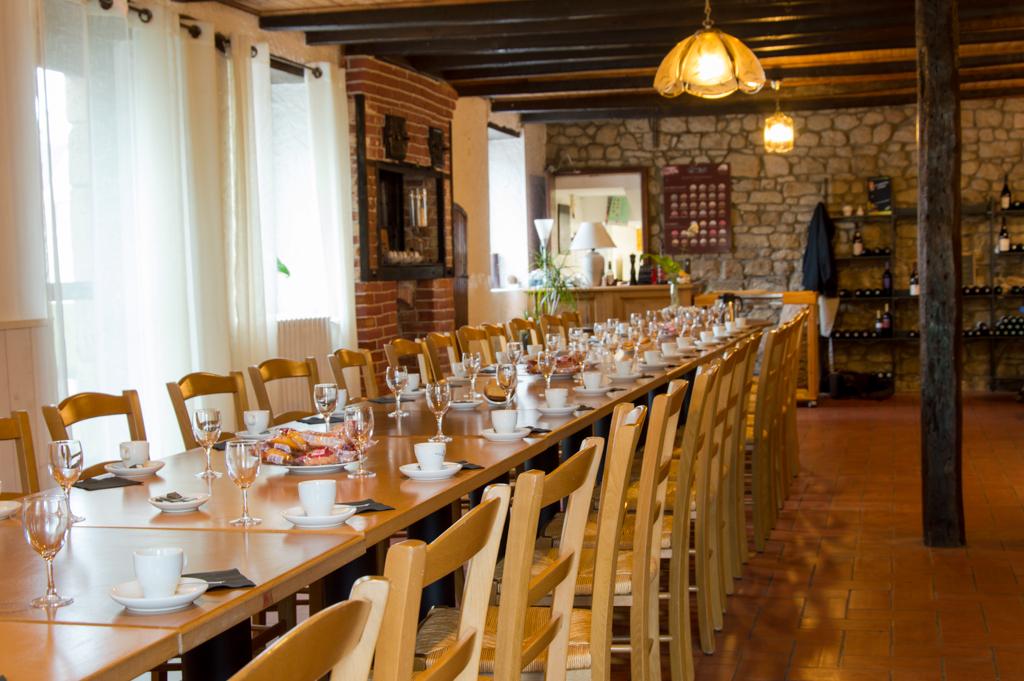 Salle de restaurant pour groupe